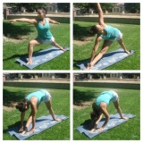 Beautiful Day For Yoga Outdoors