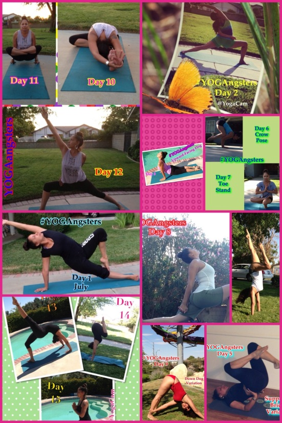 Instagram Yoga Pose A Day Challenge